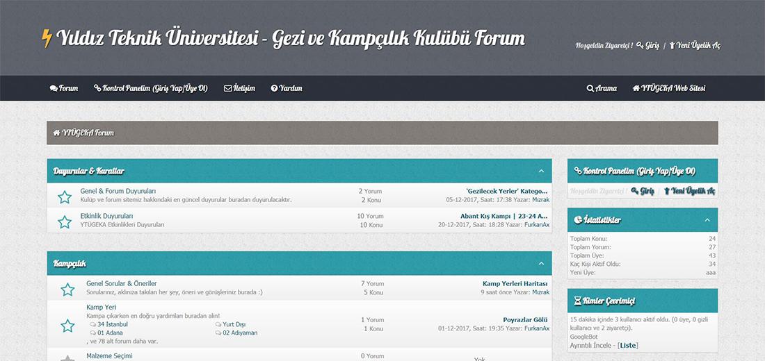 YTÜGEKA Resmi Forum Sitesi