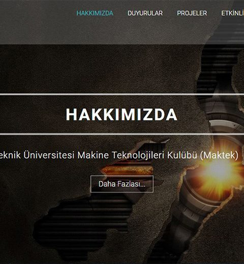 Yildiz Technical University - Machine Technology Club