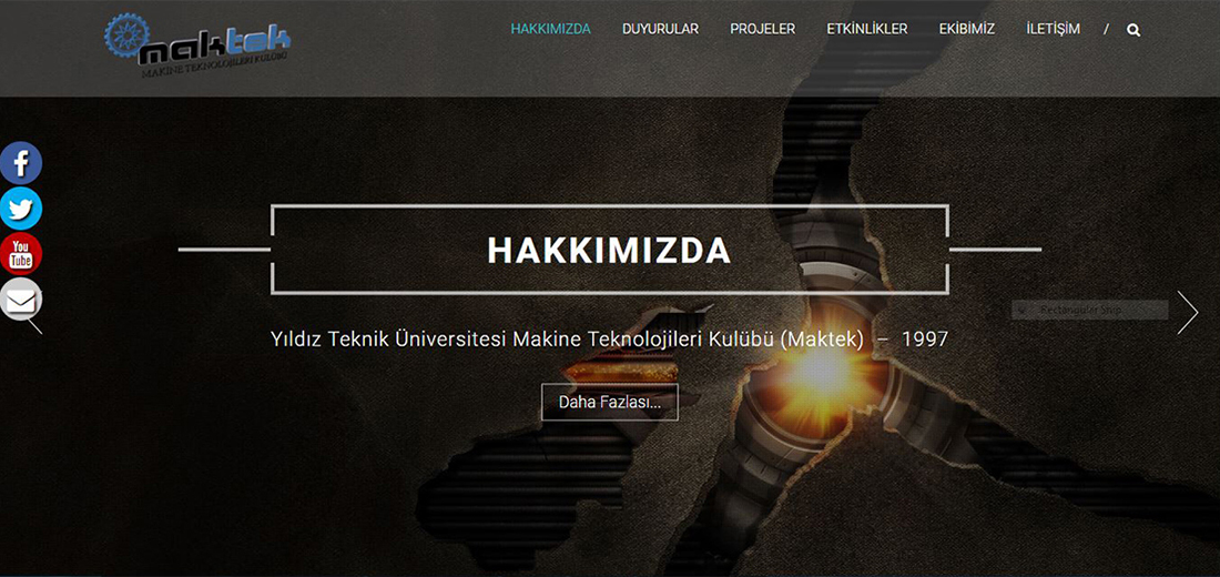 Yıldız Teknik Üniversitesi - Makine Teknolojileri Kulübü (MAKTEK)